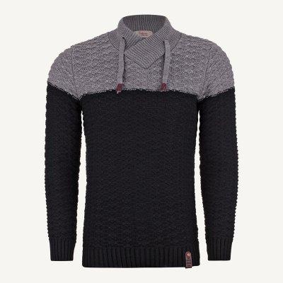 لباس مردانه بافت شیک ارزان رنگ مشکی (1)