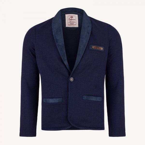 کت تک اسپرت مردانه بافت سورمه ای