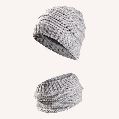 ست کلا و شال گردن مردانه اسپرت